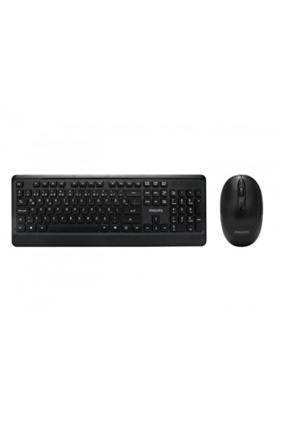 Philips Phılıps Spt6394/62 C394 Kablosuz Türkçe Q Klavye+mouse