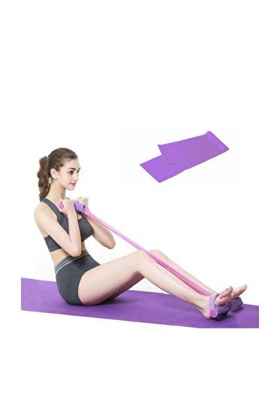 EKPA 2 Li Pilates Seti Kondisyon Küreği Pilates Lastiği Spor Seti