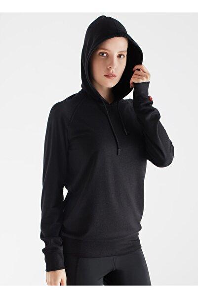 Blackspade Kadın Termal Kapşonlu Sweatshirt 2. Seviye 5938 - Siyah