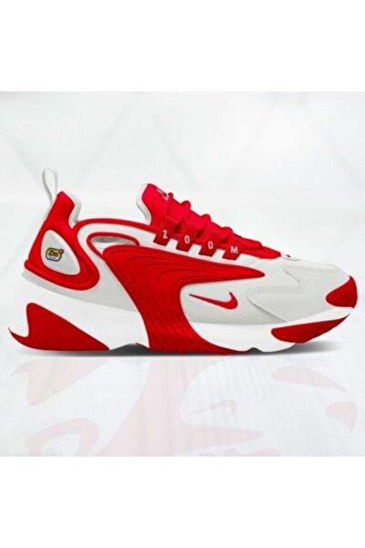 Nike Unisex Kırmızı Beyaz Zoom 2k Ao0269 012 Yürüyüş Ayakkabısı