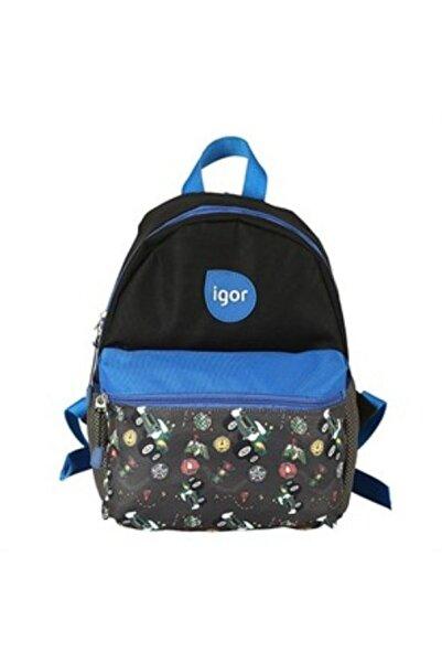 IGOR Unisex Mavi Lucky Okul Çantası