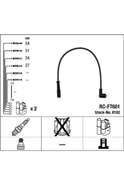 NGK Bujı Kablosu Rc-ft601 8192