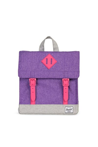 herschel Sırt Çantası Survey Kids Deep Lavender Crosshatch