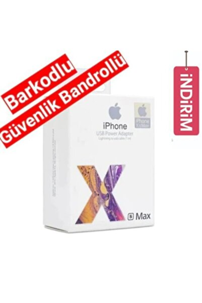 IPHONE Orjinal Şarj Aleti+kablo 5/5s 6/6s 7 8 Ve Plus X Max Orjinal Apple Şarj Aleti