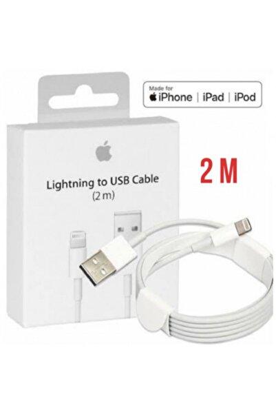 IPHONE Apple Iphone Orjinal 2 Metre Şarj Kablosu 5s 6s 6 Plus 7 Plus 8 X Xr Xs Uyumlu 2m Data Kablo