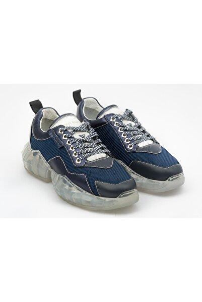Jimmy Choo Erkek Lacivert Sneakers