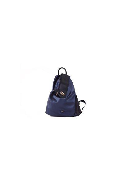 İnci Kadın Lacivert Sırt Çanta 2057