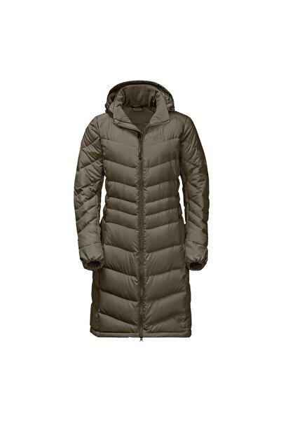Jack Wolfskin Kadın Kahverengi Selenium Coat Outdoor Mont 1202081