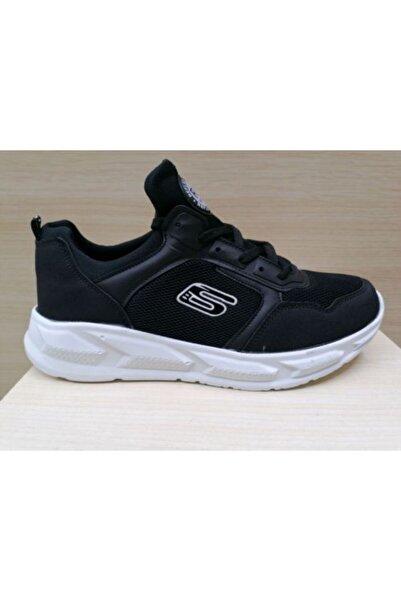 Reflex Erkek Siyah Bağcıklı Sneaker