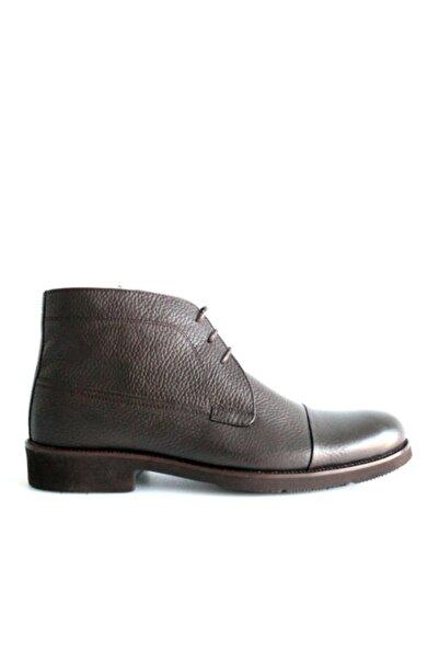 Beta Shoes Bot Hakiki Deri Erkek Kahve