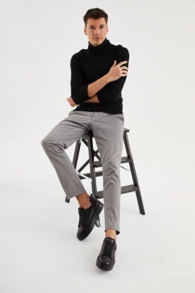 Giuseppe Mengoni Erkek Siyah Dolgu Taban Gıuseppe Mengonı Ayakkabı Vs-21149