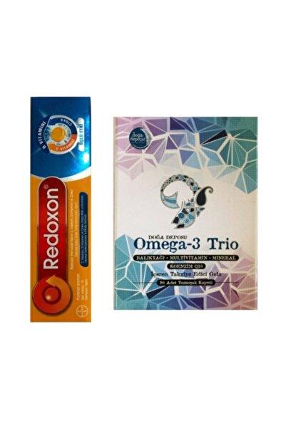 Redoxon Üçlü Etki C Vitamini D Vitamini Çinko Ve Omega 3 Trio