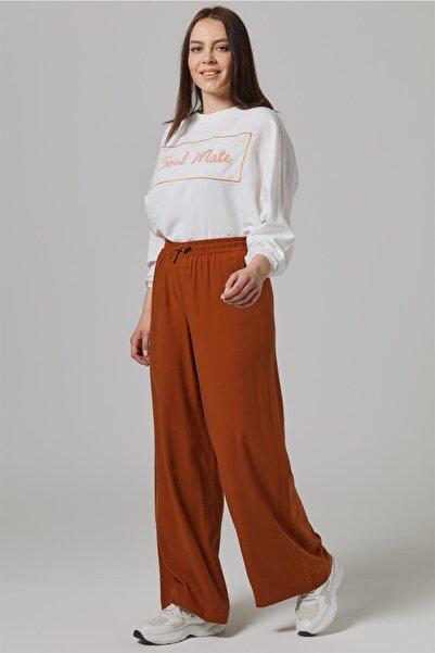 Doque Kadın Kahverengi Pantolon