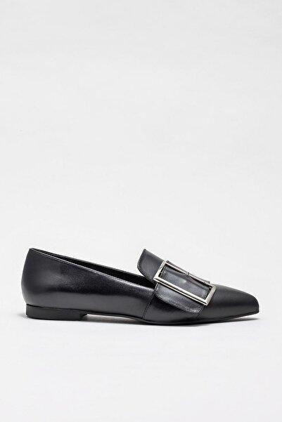 Elle Shoes Kadın Teressa Sıyah Casual Ayakkabı 20KDS50247