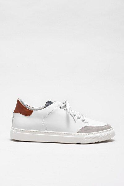 Elle Shoes Erkek Albet Beyaz Casual Ayakkabı 20KTA877-2