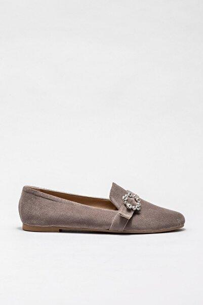 Elle Shoes Kadın Zweıg Vızon Casual Ayakkabı 20KDY436
