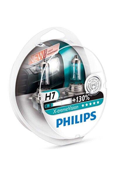 Philips X-treme Vision H7 Otomobil Far Ampulü (12972xv+s2) +%130 Fazla Işık (2'li Set)