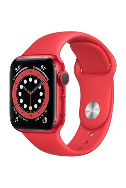 Apple Watch Series 6 Gps 44 Mm (product)red Alüminyum Kasa Ve (product)red Spor Kordon