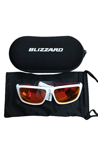 Blizzard Unisex Beyaz Kırmızı Güneş Gözlüğü