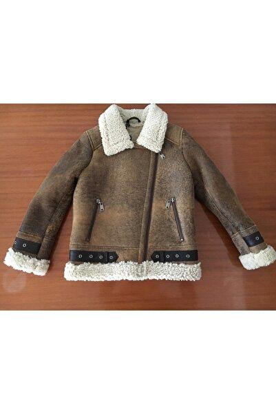 ASUS Çocuk Kahverengi Fermuarlı Ceket