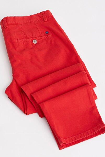 Dufy A.Kırmızı Erkek Pantolon - Slim Fit