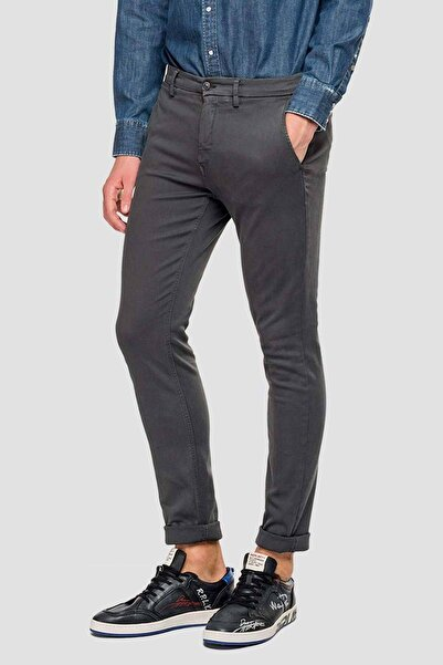 Replay Erkek Hyperflex Zeumar Slim Fit Pantolon