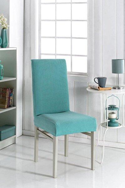 F faiend Sandalye Kılıfı Yıkanabilir Likralı Esnek Lastikli Sandalye Örtü