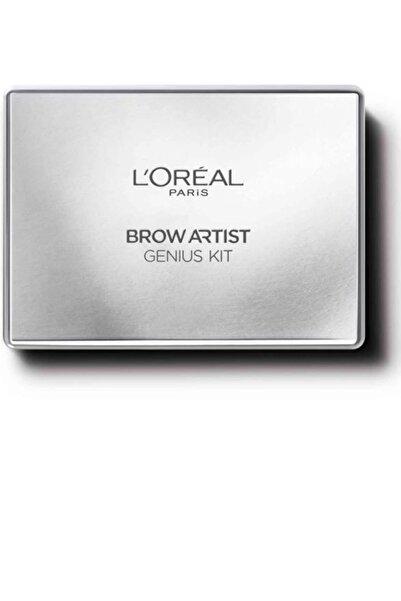L'Oreal Paris Kaş Kiti Açık - Brow Artist Genius Kit 01 Light to Medium Orta Ton 3600522832621
