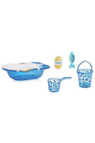 Babyjem Şeffaf Desenli Bebek Banyo Seti 6 Parça Termometreli