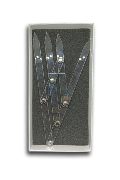 ARMONİKONYA Microblading Kalıcı Makyaj Için Altınoran Pergel Plastik 1adet