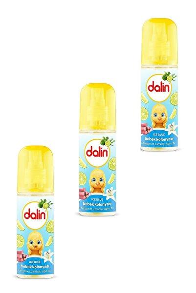 Dalin Ice Blue Kokusu Bebek Kolonyası 150 ml X 3 Adet