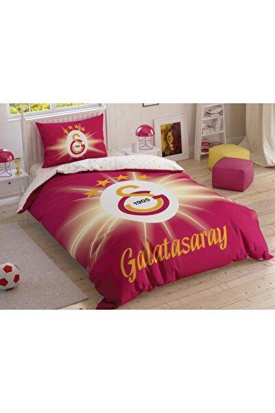 Taç Galatasaray Light Glow Tek Kişilik Lisanslı Nevresim Takımı