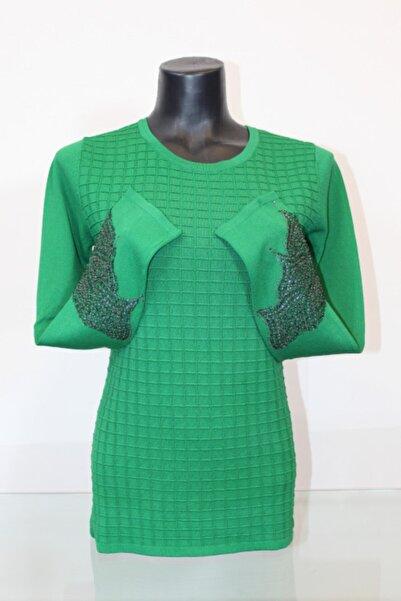 Pierre Cardin Kadın Kol Detaylı Bluz