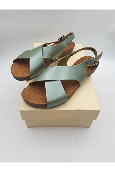 Oscar Kadın Yeşil Sandalet