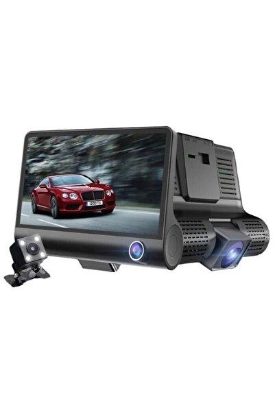 Concord C-657 Araç Yol Kamerası (ön+arka+iç) 1080p 4.0 Inç Gece Görüşü