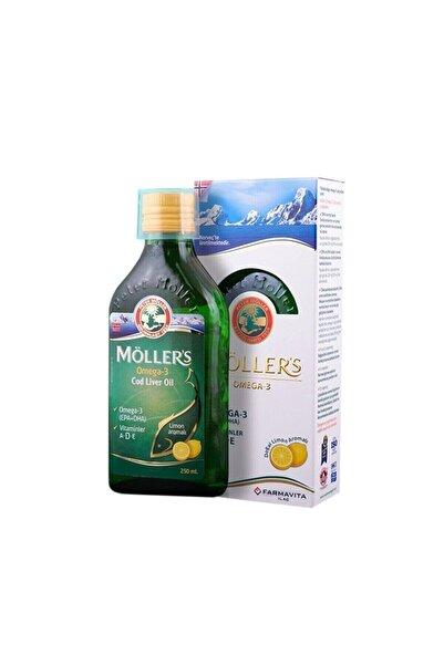Mollers Möllers Omega-3 Limon Aromalı Balık Yağı 250 Ml