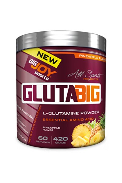 Big Joy Gluta Big % 100 Glutamine Powder 420 Gr - Ananas Aroma -