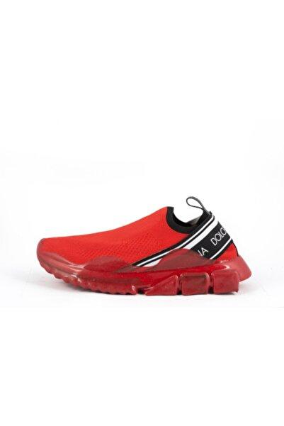 Dolce Gabbana Erkek Kırmızı Sneaker