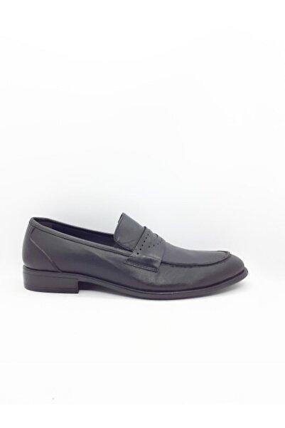 Şahin Erkek Siyah Kundura Ayakkabı