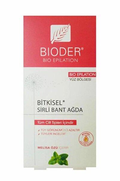 Bioder Epiten Tüy Azaltıcı Sirli Bant Ağda Yüz Için