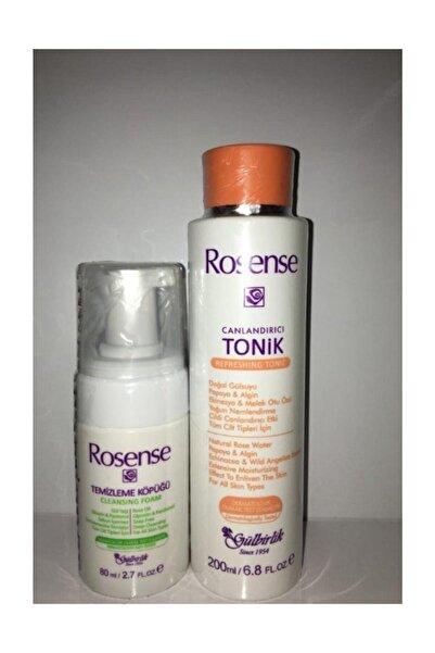 Rosense Yüz Temizleme Köpüğü+ Canlandırıcı Tonik 2'li Set