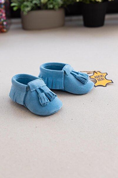 Funny Baby Erkek Bebek Mavi Ilk Adım Patik