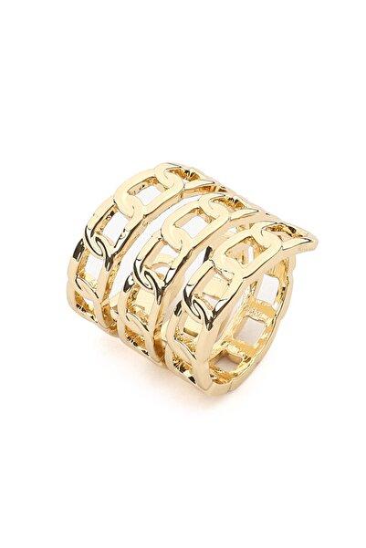 İpekyol Kadın Metalik Zincir Döngü Yüzük IW6200060001