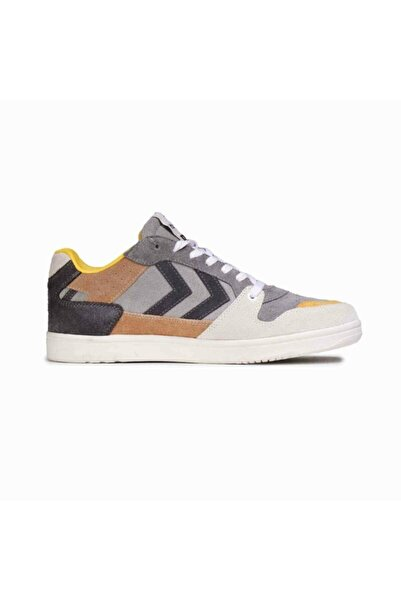 HUMMEL Unisex Gri Beyaz Taba Ayakkabı Power Play Multi Color 209042-1025