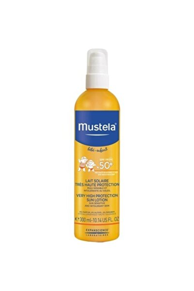 Mustela Very High Protection Sun Lotion Güneş Kremi Spf50+ 300 Ml