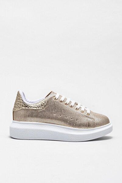 Elle Shoes ZANDA-1 Gold Kadın Ayakkabı