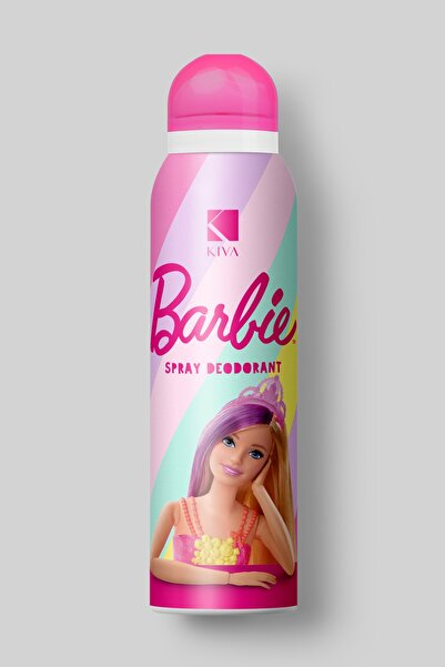 Barbie Unisex Çocuk Spray Deodorant 150 ml