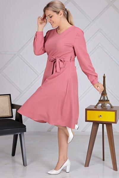 apsen Kadın Pembe Elbise