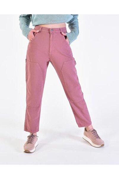 Vision Kadın Pembe Cep Detaylı Pantolon