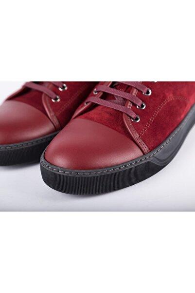 Lanvin Erkek Kırmızı Sneakers